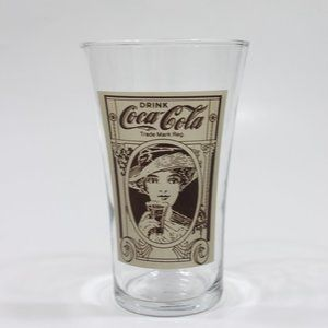 Coca-Cola 16oz Flare Glass Reproduction